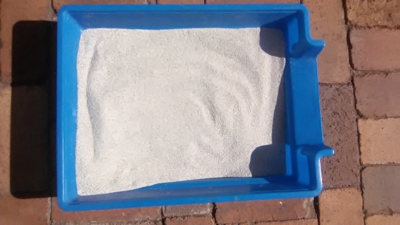 Grey Clay Granuals Cat Sand
