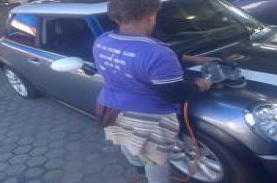 car polishing and glazing of all fleet vehicles jhb