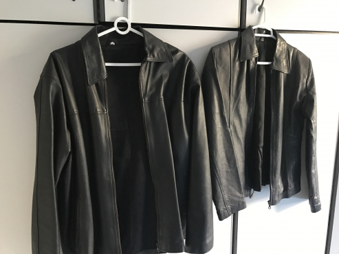 Men's and women's genuine leather jackets