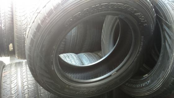 second hand tyres 265 60 18 Dunlop grandtreck at3