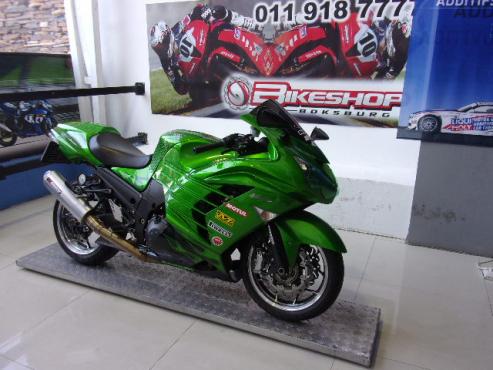 2012 Kawasaki ZX-14 (finance available)