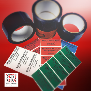 Tamper Evident Security Tape and Labels