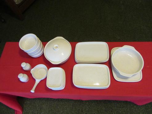 Beautiful white earthenware