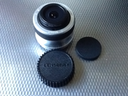 Lensbaby camera lens
