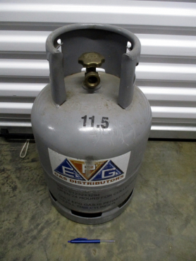 EPG 11.5kg gas bottle