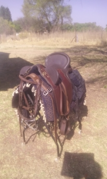 Australian out back saddle