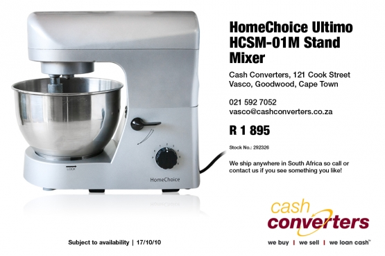 HomeChoice Ultimo HCSM-01M Stand Mixer