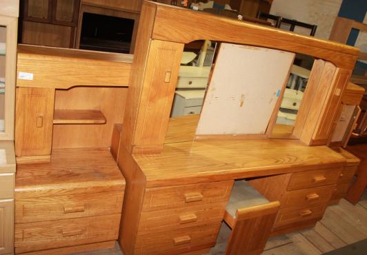 Oak bedroom suite S0