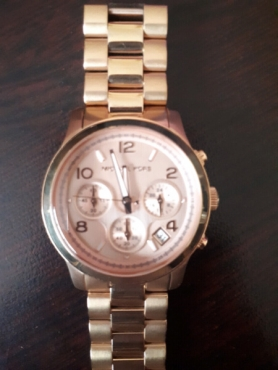 Micheal Kors Rose Gold Female Watch
