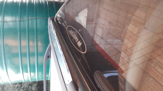 Toyota Hilux dubbel cab silwer carryboy canopy for sale_sold