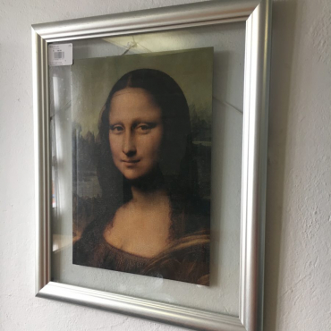 print of Mona Lisa i