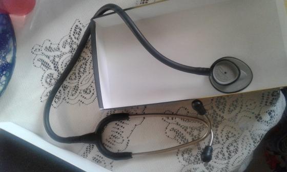 Littmann® Lightweight II S.E. Stethoscope 2450, Black Tube