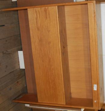 Oak headboard S02632