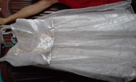 2 Piece Wedding dress for sale