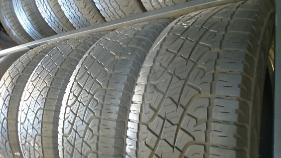Second hand tyres 25