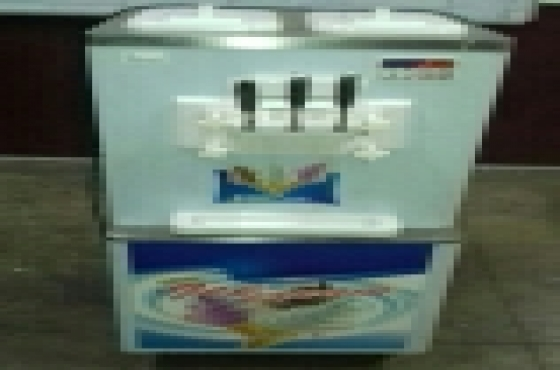 3 FLAVOUR FLOOR MODEL ICE CREAM MACHINES, NEW