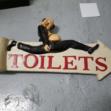 running man toilet s