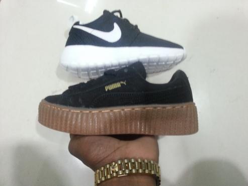 Kids Puma & Nike Sneakers