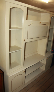 White wall unit S026