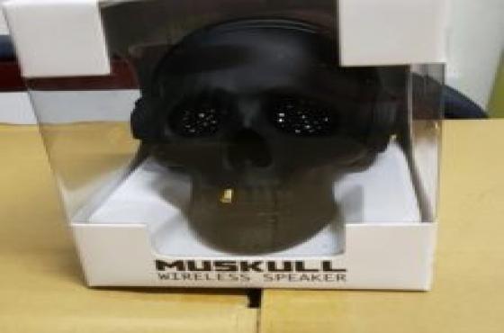 muskull wireless speaker - silver
