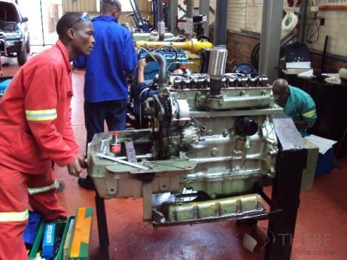 Diesel mechanic courses 0763150936 in Botswana
