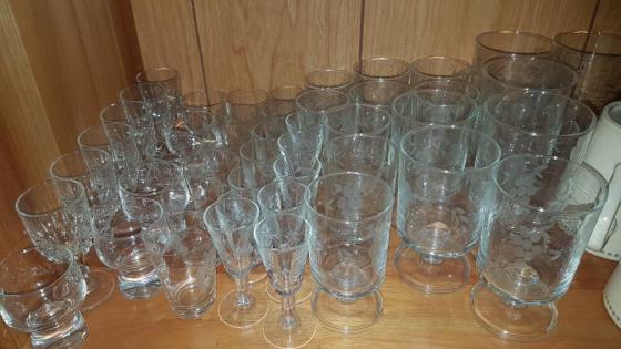 Suiwer kristal glase