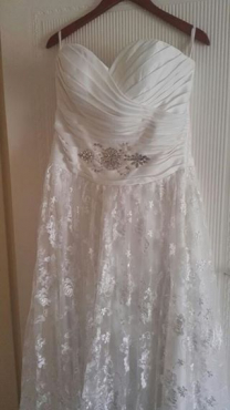 Stunning A-line Wedding Dress for Sale!