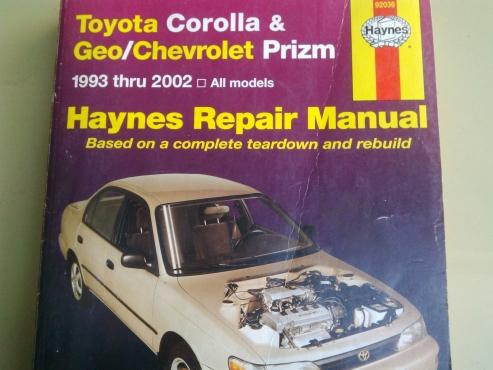 toyota corolla repair manual junk mail rh junkmail co za 1990 Corolla 1993 corolla service manual