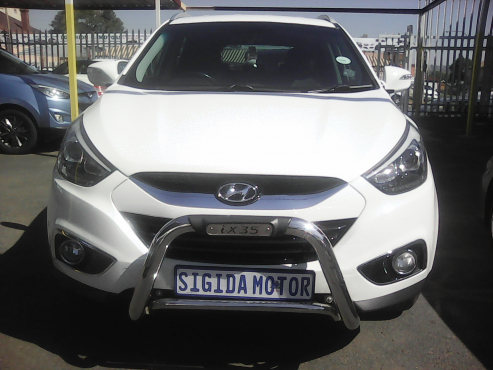 2014 hyundai ix35 2.0 executive white