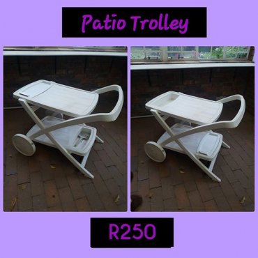Patio trolley