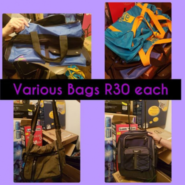 Various bags for sale