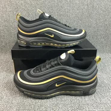 Nike Gold Air Max 97 Sneakers