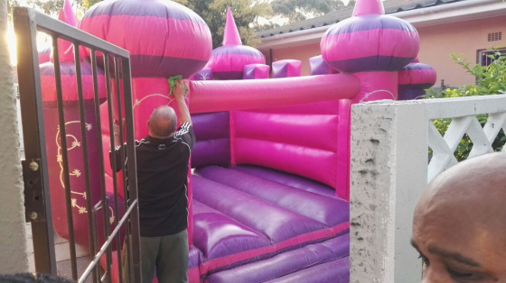 Jumping castle for hire 500
