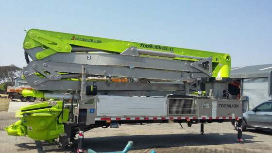 Truck mounted concrete pumps for sale