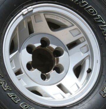 Alloy Rim and Tyre