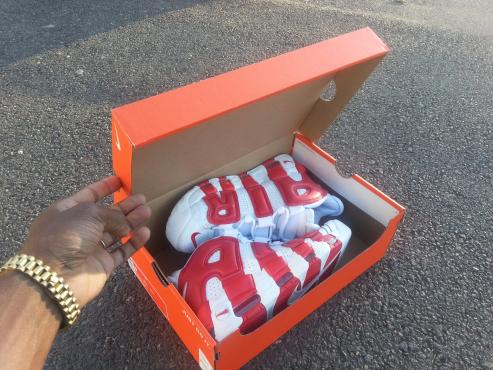 Nike Uptempo Retro Sneakers