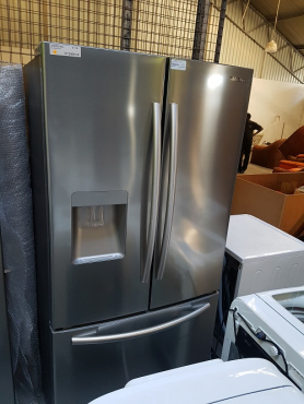 Samsung French door fridge/freezer with water and ice dispenser