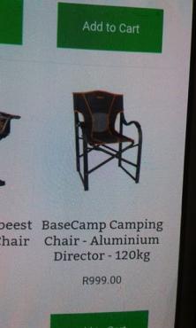 Basecamp Directors Chair