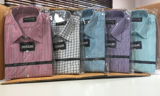 Men's Long Sleeve Collared Shirts