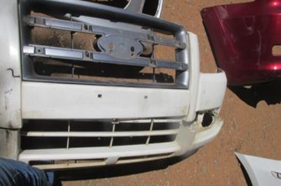 2007 Ford Ranger Front Bumper White For Sale