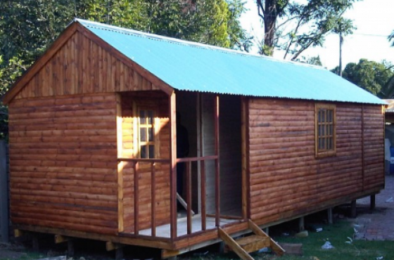Wendys and log cabins for accommodation. Storage rooms, guard rooms, doll house, etc.