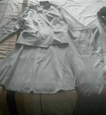 Three piece suit going for R 300 (L) size 18