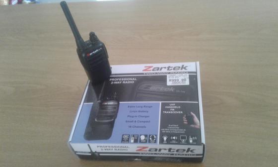 New Zartec 2 way radio