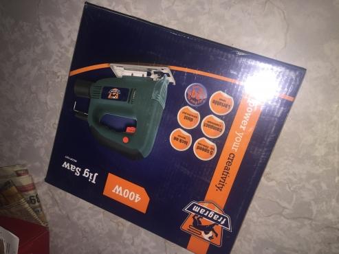 Fragram Angle Grinder & Compact Drill (500W). Fragram Jigsaw 400W