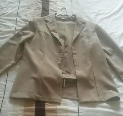 Two piece suit going for R250 (Large) NEW
