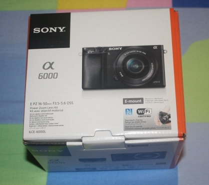 NEW Sony Alpha a6000 Mirrorless Digital Camera with 16-50mm Power Zoom Lens