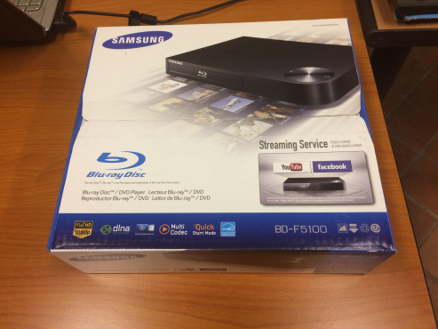 Samsung BluRay Player. New - unopened box