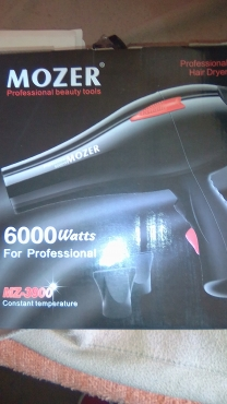 hair  dryer new