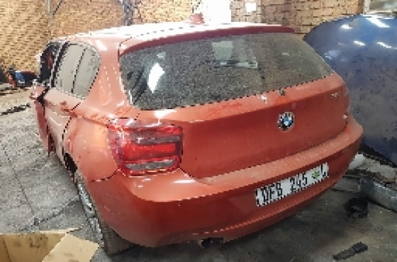 2015 BMW 118i F20 Stripping For Spares