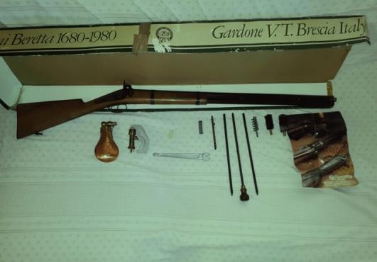 BERETTA 1680 1980 Black powder shotgun only 300 peices worldwide